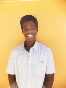 Vignesh is a smart boy. He has studied in an Auroville High School and met a teacher who inspired him to pursue a career as an Archeologist.